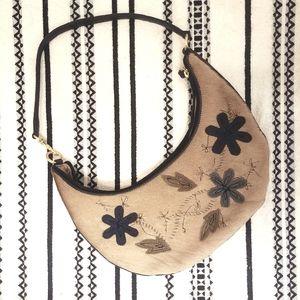 Preston & York Baguette Embellished Shoulder Bag